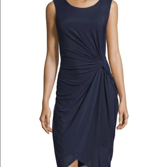 50b8957e4c95 T Tahari Dresses | Tahari Bellini Navy Blue Dress Nwt | Poshmark
